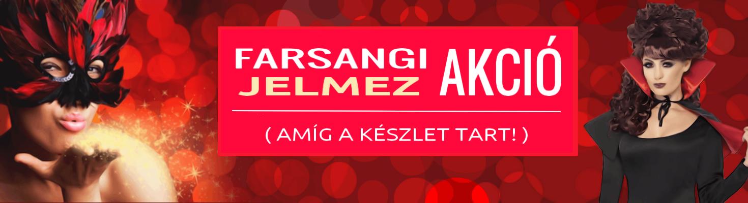 Farsangi Jelmez Akció!