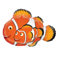 70 cm-es Nemo es papája fólia lufi