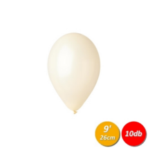 26 cm-es ivory gumi lufi 10 db/cs