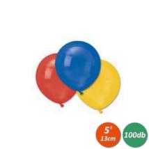 13 cm-es vegyes gumi lufi 100 db/cs