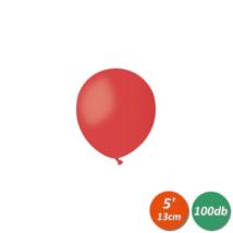 13 cm-es piros gumi lufi 100 db/cs