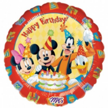 45 cm-es Mickey és barátai fólia lufi