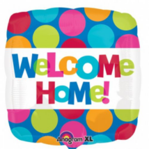 45 cm-es Welcome Home fólia lufi / Anagram