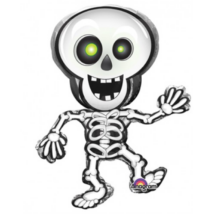 SuperShape-táncoló csontváz fólia lufi