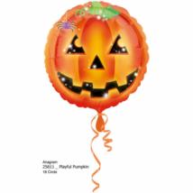 45 cm-es Halloween tökös-pókos fólia lufi
