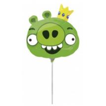 Mini - Angry Birds zöld malac fólia lufi