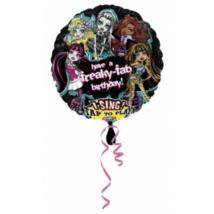Sing-a-Tune-Zenélő Monster High Happy Birthday fólia lufi