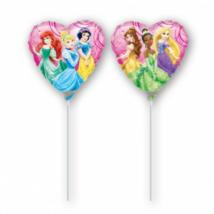 23 cm -es Hercegnők szív alakú fólia lufi