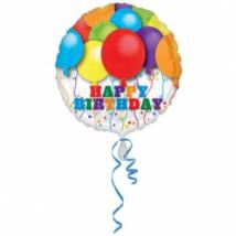 45 cm-es Happy Birthday lufis fólia lufi / Anagram