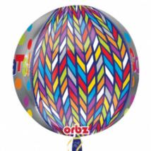 Congrats orbz gömb alakú fólia lufi