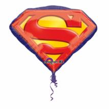 Super Superman jelvény fólia lufi
