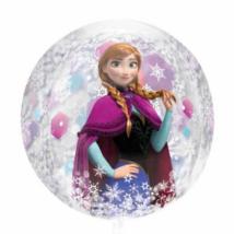 Jégvarázs orbz gömb alakú fólia lufi 40 cm / Anagram