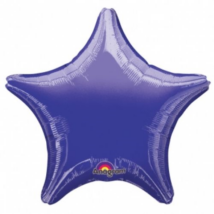 48 cm-es lila csillag alakú fólia lufi