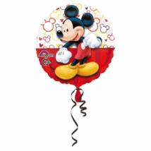 Mickey Mouse 45 cm-es csomagolt fólia lufi