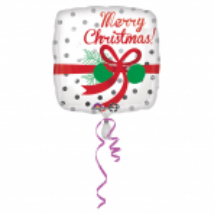 45cm-es Merry Christmas fólia lufi