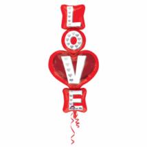 SuperShape - Love fólia lufi