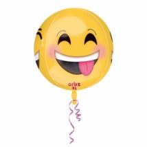 Orbz Emoji gömb alakú fólia lufi / Anagram