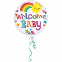 45 cm-es Welcome baby fólia lufi
