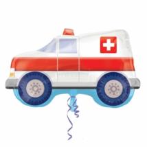 SuperShape -mentőautó fólia lufi