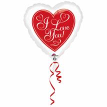 43 cm-es Red Hot Love Standard fólia lufi