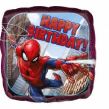 45 cm-es Pókemberes Happy Birthday fólia lufi