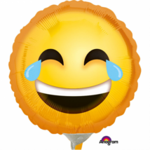 23 cm-es Smiley nevető fólia lufi / Anagram