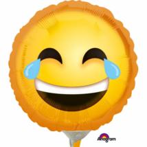 23 cm-es nevető  Smiley fólia lufi
