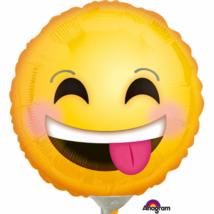 23 cm-es Smiley fólia lufi