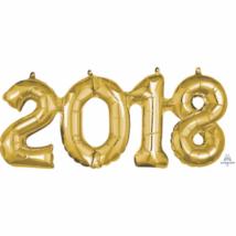2018 arany fólia lufi