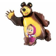 Super Mása és a Medve fólia lufi