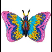 Super Pillangó pink O. fólia lufi