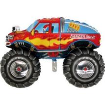 Super Rainger autó O. fólia lufi
