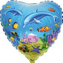 45 cm-es Delfin  fólia lufi