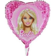 45 cm-es Barbie hercegnő  fólia lufi