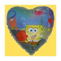45 cm-es Sponge Bob O. fólia lufi