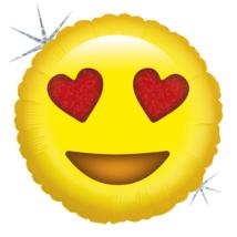 Mini -  Emoji Love fólia lufi