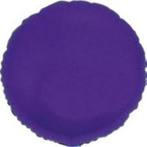 45 cm-es kerek alakú kék  fólia lufi