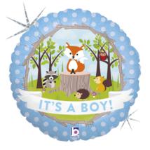 46 cm-es It's a boy! fólia lufi