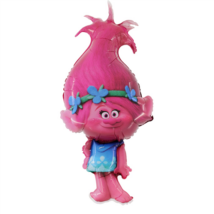 Super Trolls Poppy O. fólia lufi