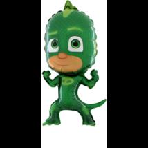 Mini PJ Maszk zöld fólia lufi