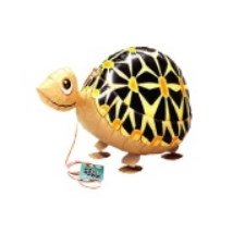 Sétáló teknős fólia lufi