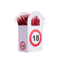 Behajtani tilos 18. születésnapra lufisúly
