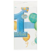 Kék terítő első születésnapra 137cm x 213cm