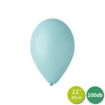 30 cm-es aquamarine gumi lufi 100 db/cs