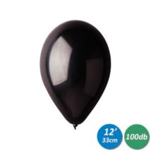 33 cm-es fekete gumi lufi 100 db/cs