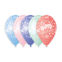 33 cm-es HB Lets party printelt  lufi 10 db/cs