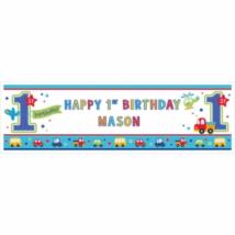 Óriás egyediesíthető felirat első születésnapra 165 x 50 cm