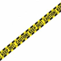 Caution!Keep out! felirat 6,1 m ®