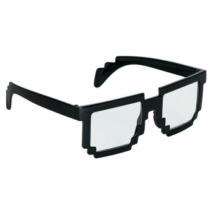 Fekete pixeles szemüveg