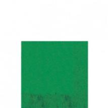 Sötétzöld szalvéta 33 x 33 cm háromrétegű 20 db/cs Ω